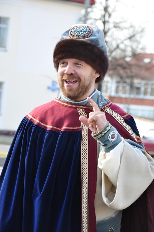 Театрализованные прогулки с посадником Сбыславом (1)