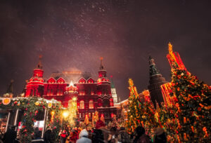 Enchantment of Winter Russia